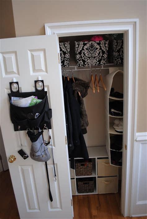 Small Closet Makeover by Small Entry Closet Makeover Organize Power