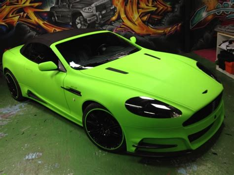 lime green aston martin mansory aston martin db9 lime green by dartz and
