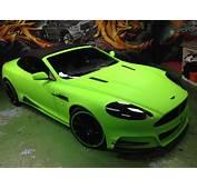 Mansory Aston Martin DB9 Diamond Lime Green By Dartz And