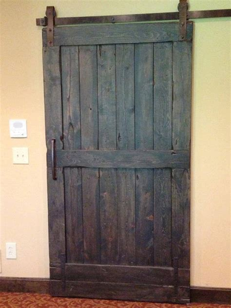 Barn Doors by Vintage Sliding Barn Door Custom Made To Fit Your By Goodfromwood