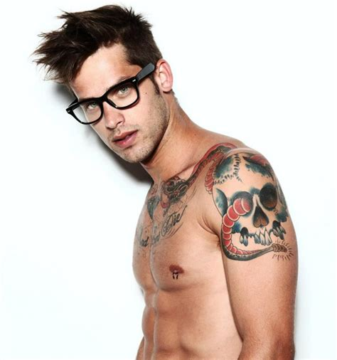 hot tattoo artist male hip tattoos 30 engaging hot boy with tattoos