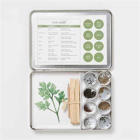 indoor herb garden kits  fresh kitchen herbs family
