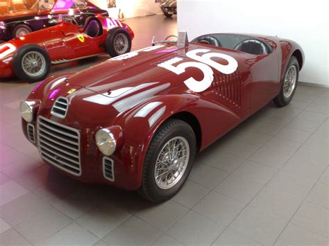 first ferrari ever made 1947 ferrari 125 s la naissance d une l 233 gende forza