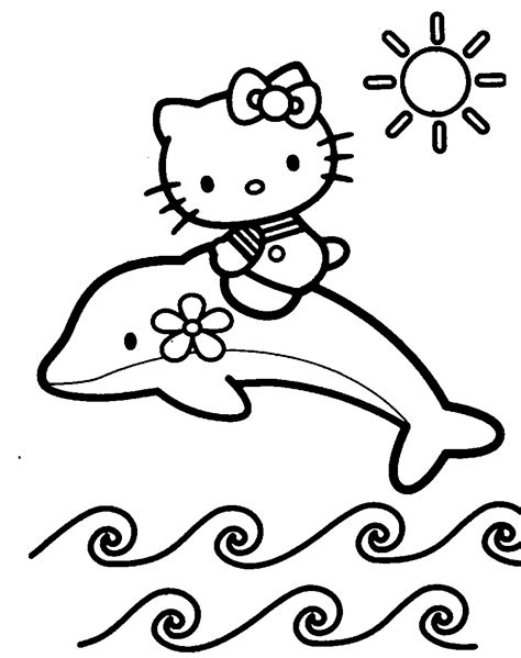 interactive magazine coloring pages kitty