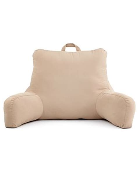 bed backrest pillow brentwood originals bedding backrest pillow decorative