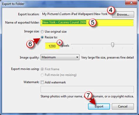 picasa  create   ipad wallpapers gilsmethodcom