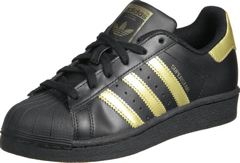 adidas superstar foundation j w shoes black gold