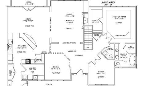 Lot 13 Main Level Plan Kansas Home Sites | lot 13 main level plan kansas home sites
