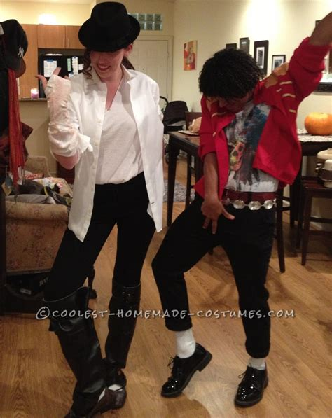 diy michael jackson costume black and white michael jackson costume