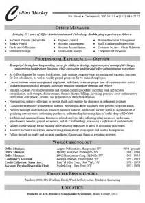 office administrator resume exle