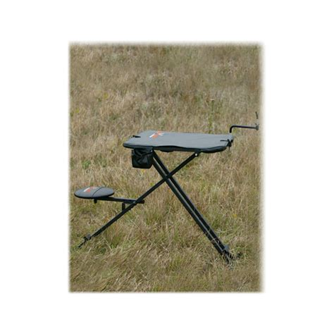 big game shooting bench big game treestands the deluxe shooting bench