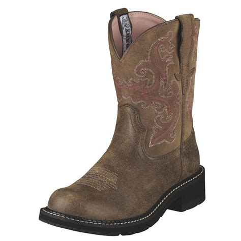 womens ariat fatbaby boots ariat womens fatbaby ii boots