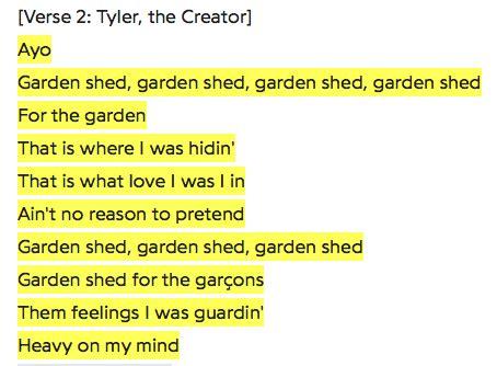 tyler  creator admitting hes gay