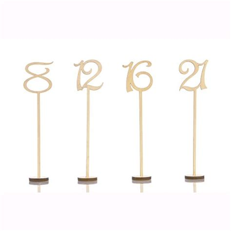 wooden table numbers 1 25 wooden wedding table numbers 1 25 pack heavy duty
