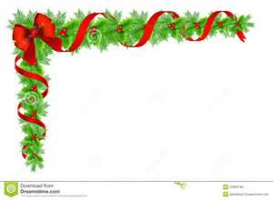 Bow Window Prices christmas holly border decoration stock illustration