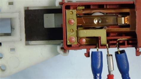 how a washing machine door interlock work how to test