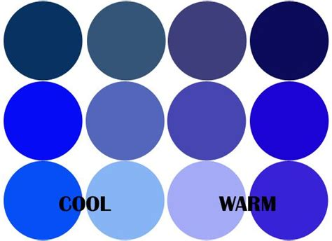 warm blue color blue has such a broad range of tones that it will blend