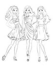 barbie colouring pages coloring kids