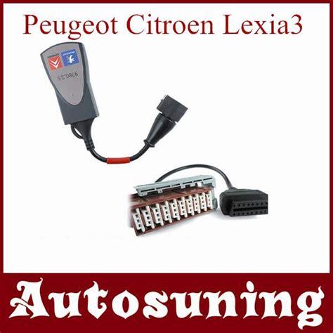 Pps2000 Lexia 3 Citroen Peugeot Diagnostic Tool lexia3 pps2000 pp2000 citroen peugeot diagnostic tool with lexia 3 30 pin cable shenzhen
