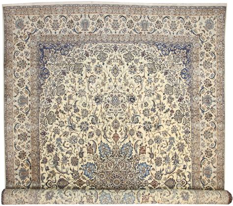 Rug Large by Large Silk Wool Nain Rug 14384