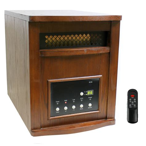 Heat Ls For Houses by Lifesmart Ls Pp1800 6wch 1500w Plus Infrared Quartz Heater