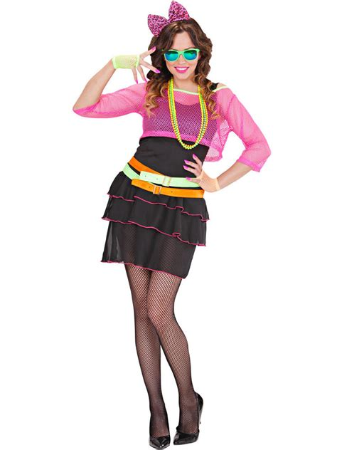 80s groupie costume ladies 80s groupie girl costume all ladies fancy dress hub