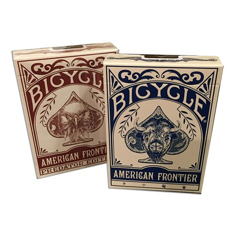 Frontier Gift Card - bicycle 174 frontier playing cards set of two modern pioneer