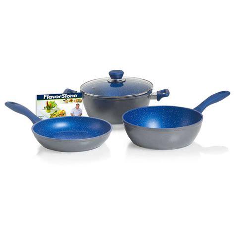 Pan Bolde Wok Pan 24 Cm Granite Coating Free new flavorstone 28cm 4 set frypan casserole pan cookware non stick 10830809002571 ebay