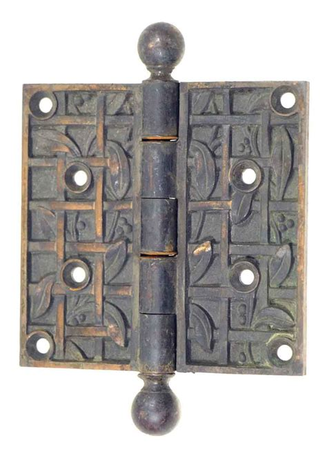 Bronze L Finial by Bronze Decorative Hinge With Finial Olde Things