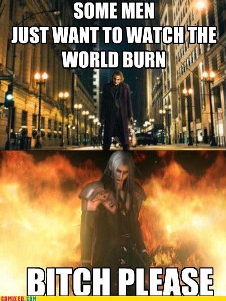 Sephiroth Meme - sephiroth comics comic vine