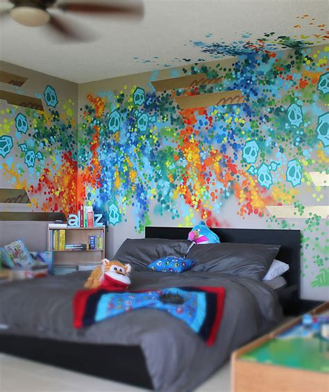 Graffiti Designs For Bedrooms Dudeman Presents Fabulous Graffiti Furniture Best Home Ideas