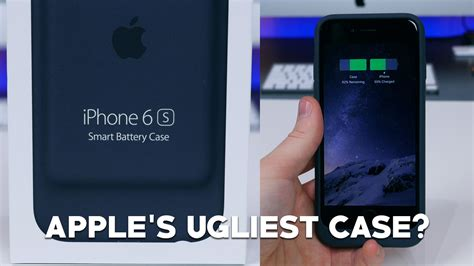 hands    ugly apple iphone  smart battery case