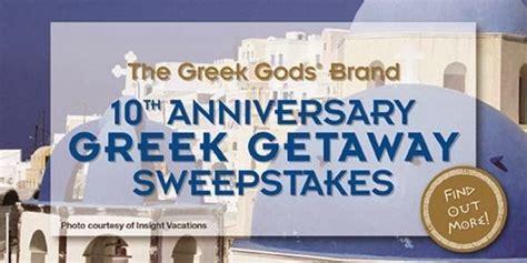 Greece Sweepstakes - win greece vacation with greek gods yogurt sweepstakesbible