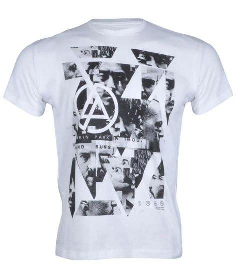 Polo Shirt Linkin Park Berkualitas linkin park white cotton t shirt buy linkin park white