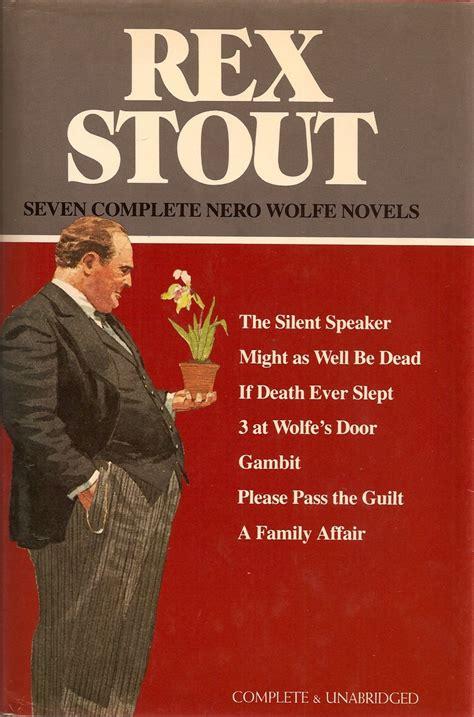 If Slept Nero Wolfe 19 best i like nero wolfe images on rex stout