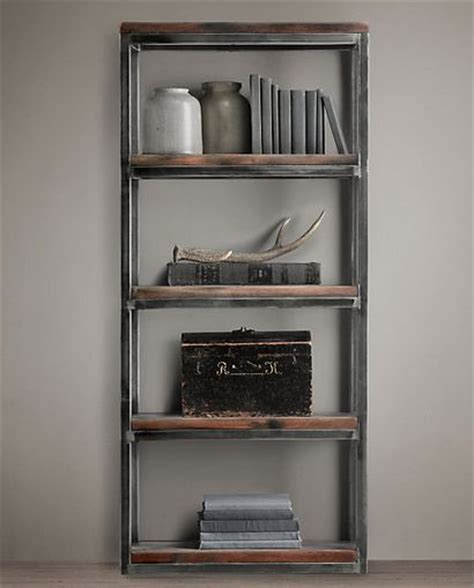 restoration hardware for the home shelves