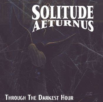 darkest hour release uk solitude aeturnus through the darkest hour cd album
