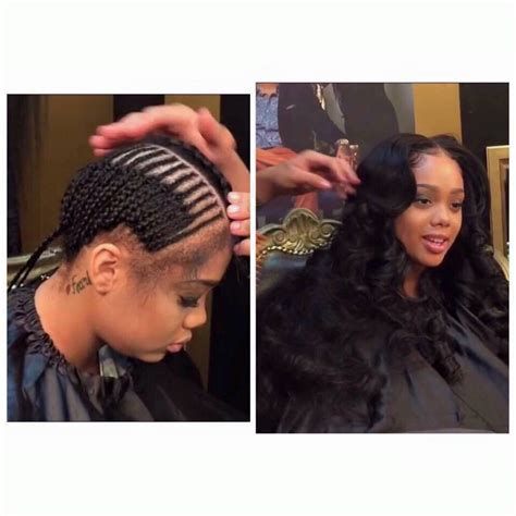 Middle Part Sew In Pinterest 81256 | APPLESTORY