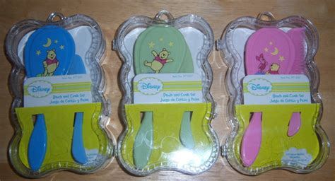 Combs Showers His New Babies With Diamonds by New Disney Winnie The Pooh Brush And Comb Set Baby Shower
