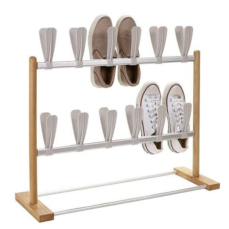 Upright Shoe Rack by Shoe Storage Solutions Storage Ideas