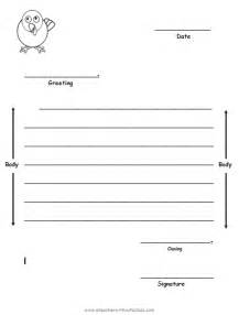 Letter Template For Kids Pics Photos Friendly Letter Template For Kids Pdf