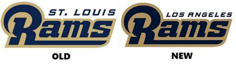 news on st louis rams la rams unveil new logo