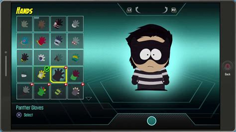 All Costum All south park the fractured but whole all costumes