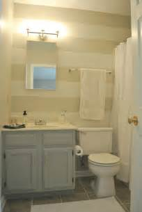Small Master Bathroom by A Amp O On The Go Budget Master Bath Make Over After