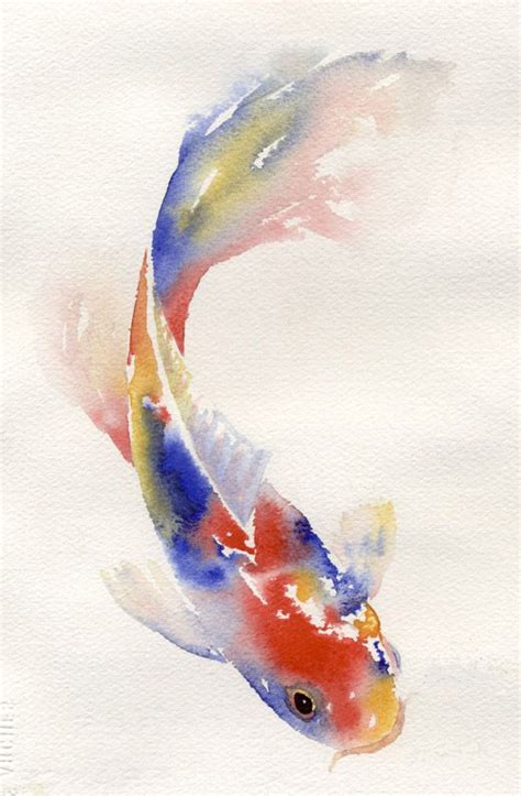 watercolor koi tattoo 25 best ideas about watercolor fish on koi