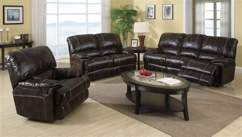 Leather Living Room Furniture Canada Uk American Canada Recliner Bonded Leather Sofa Sets 3 2 1