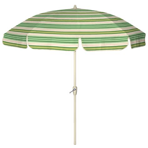 Striped Patio Umbrella Country Living 7 1 2 Ft Patio Umbrella Stripe