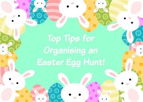 tips for organising an easter egg hunt with love from lou