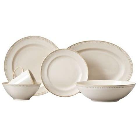 white beaded dinnerware set threshold beaded dinnerware for the home