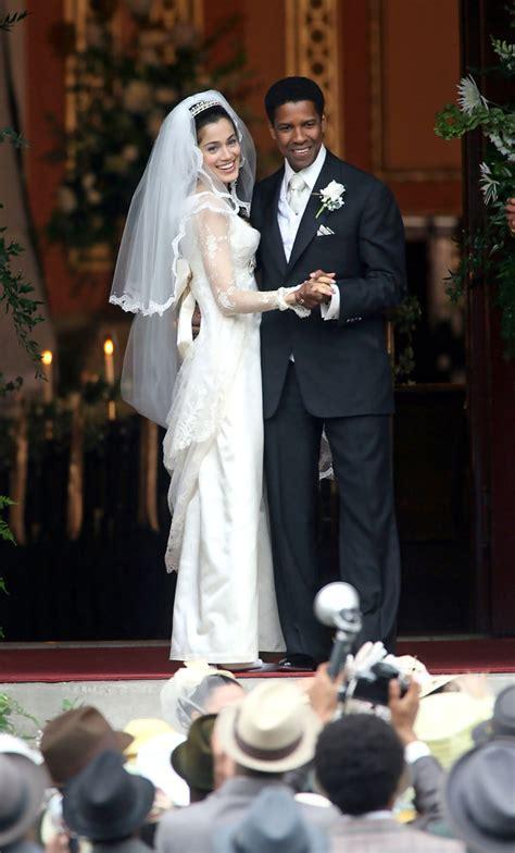 film gangster denzel washington american gangster wedding between frank lucas and eva